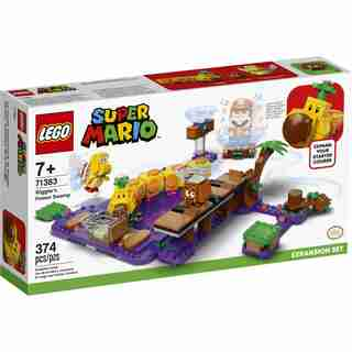 LEGO® Super Mario Wiggler's Poison Swamp Expansion Set - 71383
