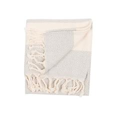 POKOLOKO DIAMOND TURKISH HAND TOWEL - MIST