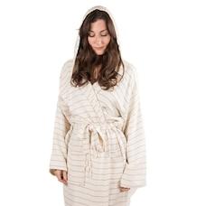 Pokoloko Bamboo Robe - Mist, Medium/Large