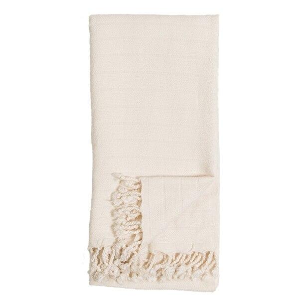 POKOLOKO BAMBOO TURKISH TOWEL - CREAM