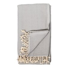 POKOLOKO HERRINGBONE TURKISH TOWEL - GRIS