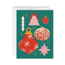 BOXED CARDS (6) ORNAMENTS
