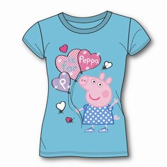 PEPPA PIG T-SHIRT (WITH GIFT BOX), TURQUOISE 3T