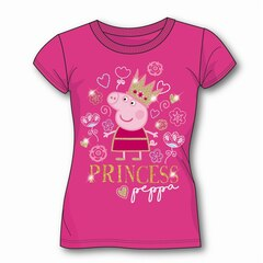 PEPPA PIG T-SHIRT (WITH GIFT BOX), PINK 4T