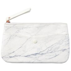 PENCIL POUCH LARGE MARBLE