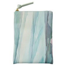 PENCIL POUCH LARGE NATURE'S SERENITY WATERCOLOUR