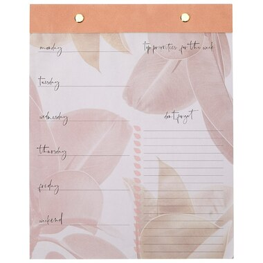 WEEKLY PLANNER NATURE'S SERENITY