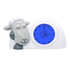 ZAZU Sleeptrainer Clock Sam the Sheep - Grey