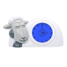 ZAZU Sleeptrainer Clock Sam the Sheep Grey