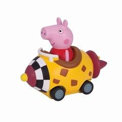 Jouet Peppa Pig — Peppa dans sa fusée jaune