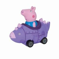 Jouet Peppa Pig — George dans son véhicule-dinosaure mauve
