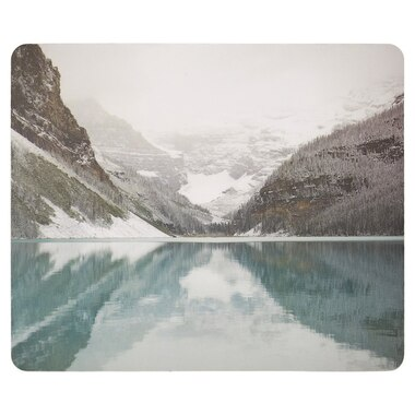 MOUSEPAD WINTERLAND LAKE LOUISE