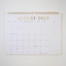 2021 17 MONTH SPIRAL CALENDAR CLASSIC GOLD