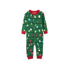 Hatley® Kids Union Suit Pajamas Green Northern Lights 6 to 12 Months