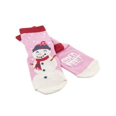 Kid's Animal Sock - Pink Cold Feet - S