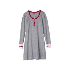 Long Sleeve Nightdress - Canadiana Work Sock