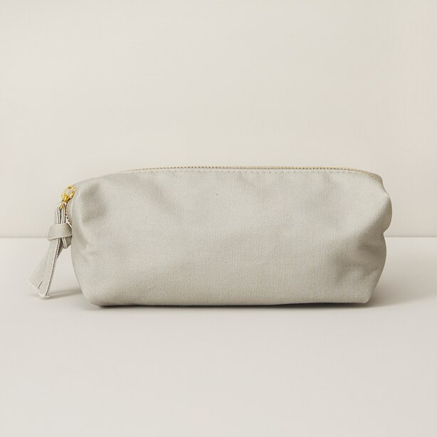 GOOD EARTH LARGE PENCIL POUCH BOX GREY