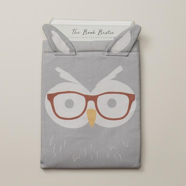 THE BOOK BESTIE OWL BOOK SLEEVE