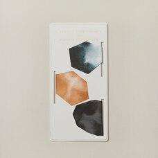Magnetic Bookmarks Geo Stones Set of 3