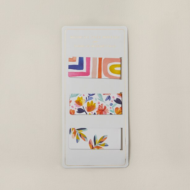 Magnetic Bookmarks Boho Bright Set of 3