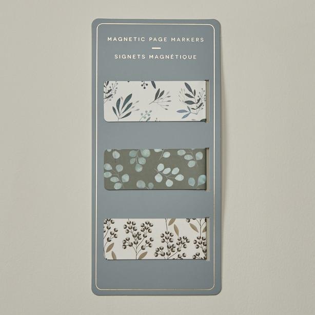Scandi Style Magnetic Bookmark Set of 3