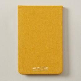 NōTA ARCHETYPE MEMO PAD LARGE MUSTARD