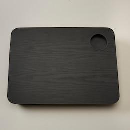NōTA ARCHETYPE LAP DESK FAUX WOOD BLACK