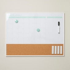 MONTHLY DRY ERASE BOARD WITH CORK
