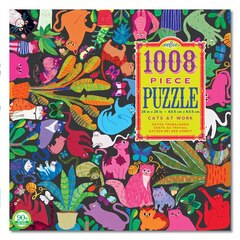 Cats at Work 1008 Piece Puzzle