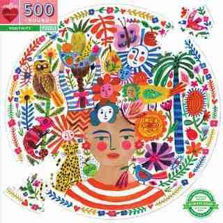 EEBOO POSITIVITY CIRC PUZZLE 500 Piece Puzzle