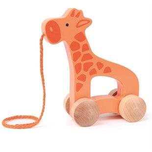Hape Pull Toy - Wooden Giraffe