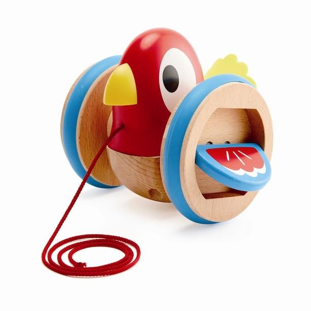 Hape® Pull Along Toy Baby Bird