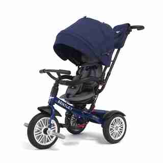 Bentley® 6-in-1 Convertible Trike/Stroller Sequin Blue
