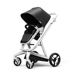 Milkbe Auto Braking Stroller Black