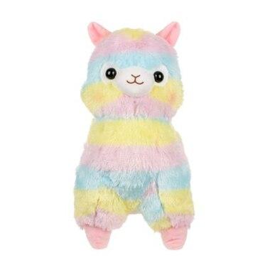 Amuse® Plush Animal Alpaca Rainbow