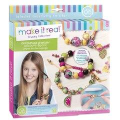 Make It Real Decoupage-a-Bead Jewelry