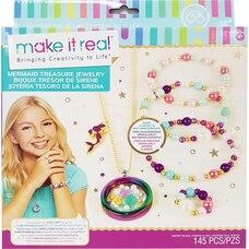 Make it Real Mermaid Treasure Jewelry DIY Craft Kit