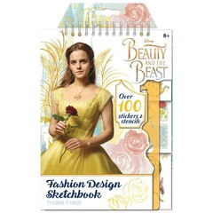 Make It Real Beauty & the Beast Fashion Design Sketchbook