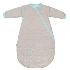 Quilted Organic Sleep Bag 2.0 TOG, Grey Small
