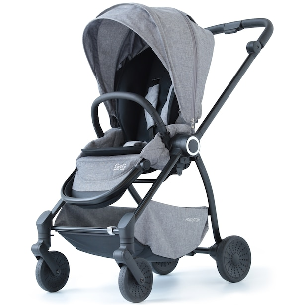 G&G Hopscotch Stroller - Salt & Pepper