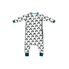 Nest Designs Eric Carle Bamboo Long Sleeve Sleep Suit 0.6 TOG - Black Caterpillar - 4 Toddlers…