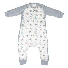 Nest Designs Raglan Bamboo Long Sleeve Cozy Sleep Suit 2.5 TOG - Otter Love Size 6M-18M