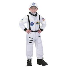 Astronaut White Costume - Size 8-10