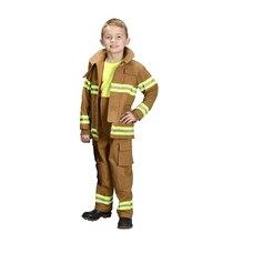 Jr. Fire Fighter Suit size 6/8 (Tan)