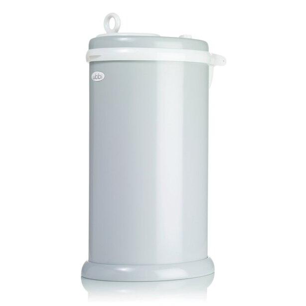 Ubbi Stainless Steel Diaper Pail - Grey