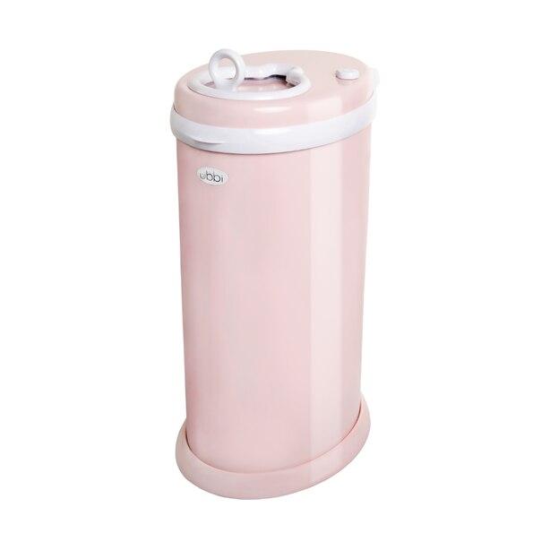Ubbi Diaper Pail Blush Pink