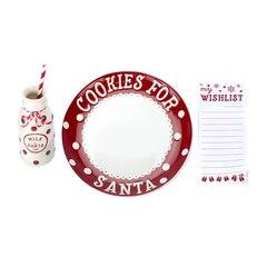 Service à biscuits pour le père Noël par Pearhead