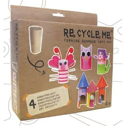 RECYCLE ME TOILET PAPER ROLLS CRAFT KIT