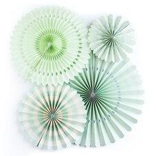 Mint Basic Fans, Set of 4