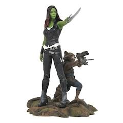 Marvel Gallery: Guardians of the Galaxy Volume 2 - Gamora & Rocket Raccoon - PVC Statue